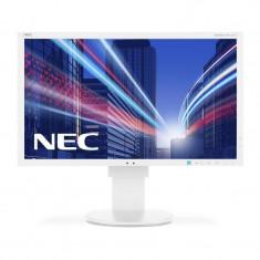 Monitor LED IPS NEC MultiSync EA244WMi 24.1 inch 6 ms White, 24 inch, HDMI, 1920 x 1200
