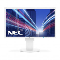 Monitor LED IPS Nec MultiSync EA244WMi 24.1 inch 6 ms White, 24 inch