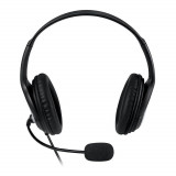 Casti Microsoft Over-Head L2 LX-3000 Black, Casti Over Ear, Cu fir