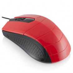 Mouse Logic LM-13 red, USB, Optica