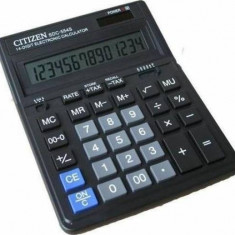 Calculator de birou Citizen SDC554S Black