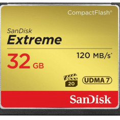 Card Sandisk Compact Flash Extreme 120Mbs 32GB