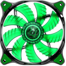 Ventilator pentru carcasa Cougar Dual-X Green LED 140mm - Cooler PC