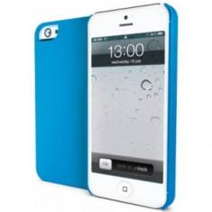 Husa Protectie Spate Muvit MUBKC0592 Igum Albastru pentru APPLE iPhone 5s, iPhone SE - Husa Telefon