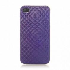 Husa Protectie Spate Muvit MUBKC0339 Violet pentru APPLE iPhone 4s - Husa Telefon