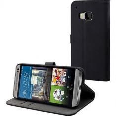 Husa Flip Cover Muvit 109619 Slim neagra pentru HTC One M9 - Husa Telefon