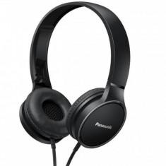Casti Panasonic cu banda RP-HF300ME-K Microfon Negru, Casti Over Ear, Cu fir, Mufa 3, 5mm