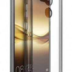 Husa Protectie Spate Ringke Fusion Smoke Black plus folie protectie pentru Huawei Mate 8 - Husa Telefon