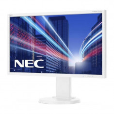 Monitor LED IPS NEC MultiSync E243WMi 23.8 inch 6 ms White, 24 inch