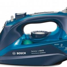 Fier de calcat Bosch TDA703021A Sensixx´x DA70 AntiShine 3000W albastru, Ceranium-Glissee