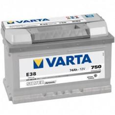 Baterie auto Varta SILVER DYNAMIC 574402075 E38 74Ah 750A, 60 - 80