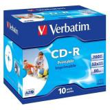 Mediu optic Verbatim BLANK CD-R Datalife Plus 52X 700MB 10 bucati