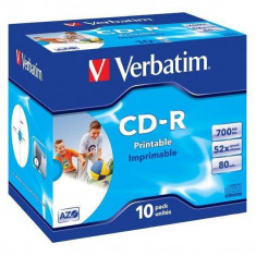 Mediu optic Verbatim BLANK CD-R Datalife Plus 52X 700MB 10 bucati - CD Blank