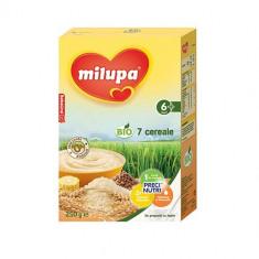 Cereale copii MILUPA Bio 7 Cereale fara lapte 250g de la 6 luni