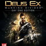 Joc consola Square Enix Ltd DEUS EX MANKIND DIVIDED DAY ONE EDITION pentru XBOX ONE - Jocuri Xbox One