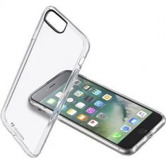 Husa Protectie Spate Cellularline CLEARDUOIPH755T Transparent pentru Apple iPhone 7 Plus - Husa Telefon