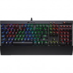 Tastatura Gaming Corsair K70 LUX RGB LED Cherry MX Red - Tastatura PC Corsair, Cu fir, USB
