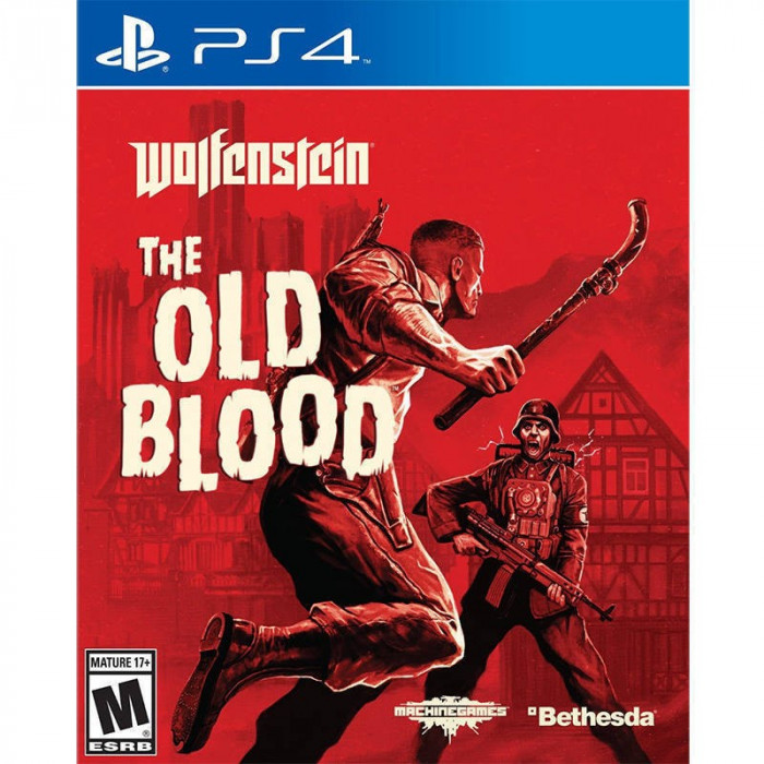 Joc consola Bethesda Wolfenstein The Old Blood PS4 foto mare