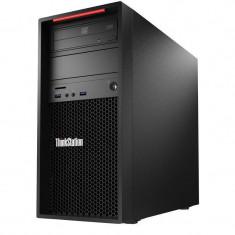 Sistem desktop Lenovo ThinkStation P310 Tower Intel Xeon E3-1225 v5 4GB DDR4 1TB HDD Windows 10 Pro - Sisteme desktop fara monitor