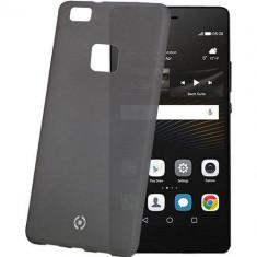 Husa Protectie Spate Celly FROST564BK Frost Negru pentru HUAWEI P9 Lite - Husa Telefon Celly, Plastic