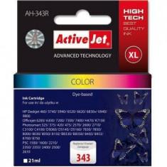 Consumabil ActiveJet Cartus cerneala compatibil HP 343 C8766 XL - Cartus imprimanta