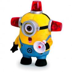 Jucarie de plus Minions Pompierul Stuart cu functii