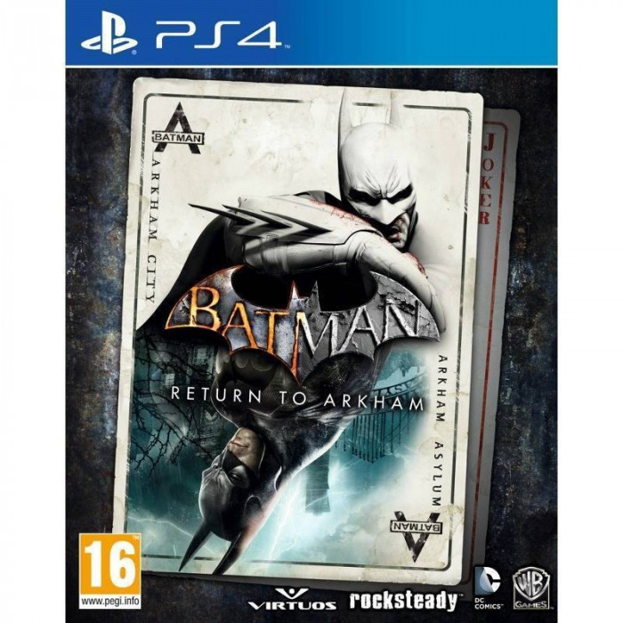 Joc consola Warner Bros Batman Return to Arkham PS4 foto mare