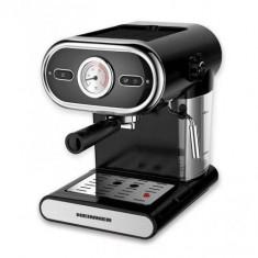 Espressor cafea Heinner HEM-1100BK, Manual, 15 bar