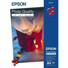 Hartie foto Epson Quality InkJet Paper S041061 A4 100 coli - Hartie foto imprimanta