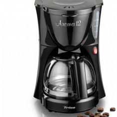 Cafetiera Trisa Aroma 12 900W 1.2l Neagra