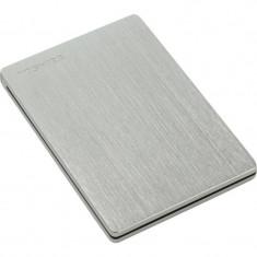 Hard disk extern Toshiba Canvio Silm 500GB 2.5 inch USB 3.0 Silver - HDD extern Toshiba, 500-999 GB