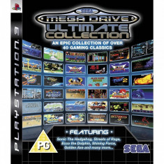 Joc consola Sega SEGA Mega Drive Ultimate Collection - PS3 - Jocuri PS3 Sega, Arcade, 12+