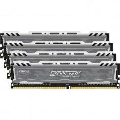 Memorie Crucial Ballistix Sport LT 32GB DDR4 2400 MHz CL16 Quad Channel Kit - Memorie RAM