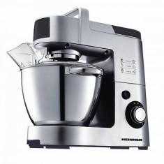 Mixer cu bol Heinner HPM-1500XMC 6 viteze 1500W Argintiu/Negru - Mixer Bucatarie Heinner, 1200 W, Numar viteze: 6