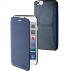 Husa Flip Cover Muvit 96894 Denim albastra pentru Apple iPhone 6 - Husa Telefon Muvit, iPhone 6/6S