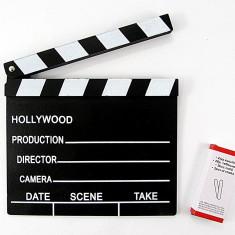 Clacheta de regizor, confectionata din lemn – 20 x 18 cm - NOUA