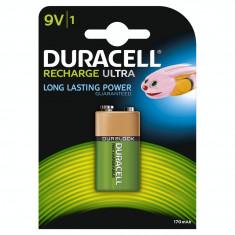 Acumulator Duracell 9V 170mAh Verde - Baterie Aparat foto