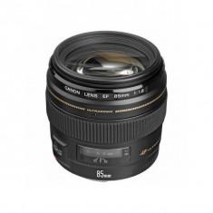 Obiectiv Canon EF 85mm f/1.8 USM - Obiectiv DSLR Canon, Tele, Autofocus, Canon - EF/EF-S