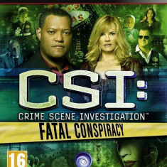 Joc consola Ubisoft CSI 6 FATAL CONSPIRACY - PS3 - Jocuri PS3 Ubisoft, Simulatoare, 16+