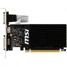 Placa video MSI nVidia GeForce GT 710 Silent 2GB DDR3 64bit low profile - Placa video PC Msi, PCI Express
