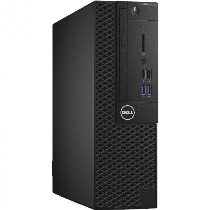 Sistem desktop Dell OptiPlex 3050 SFF Intel Core i5-7500 8GB DDR4 256GB SSD Windows 10 Pro Black foto mare