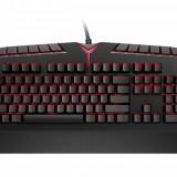 Tastatura gaming mecanica Lenovo Y Black, Cu fir, USB