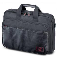 Geanta laptop Genius GC-1551 Professional 15.6 inch black, Nailon, Negru