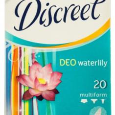 Absorbante zilnice DISCREET Water Lilly multiform deo 20 bucati
