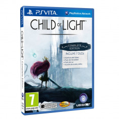 Joc consola Ubisoft Child of Light Complete Edition PS Vita - Jocuri PS Vita Ubisoft, Role playing, 12+, Single player