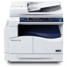 Multifunctionala Xerox WorkCenter 5024 A3 Laser Monocrom USB Alb
