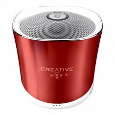 Boxa portabila Creative Woof3 Rouge, Conectivitate bluetooth: 1