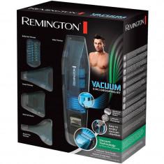 Set de ingrijire personala Remington PG6070 E51 Vacuum 5 in 1 Grooming Kit Negru / Albastru - Aparat de Tuns