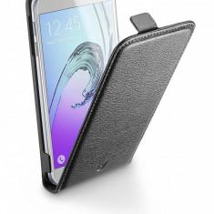 Husa Flip Cover Cellularline Essential Negru pentru Samsung Galaxy A3 2016 - Husa Telefon