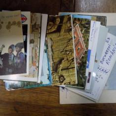 Carti postale ilustrate adresate lui Nichita Stanescu - Harta Europei